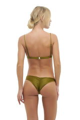 Storm Swimwear - Mallorca - Triangle Bikini Top with Paded In Champagne