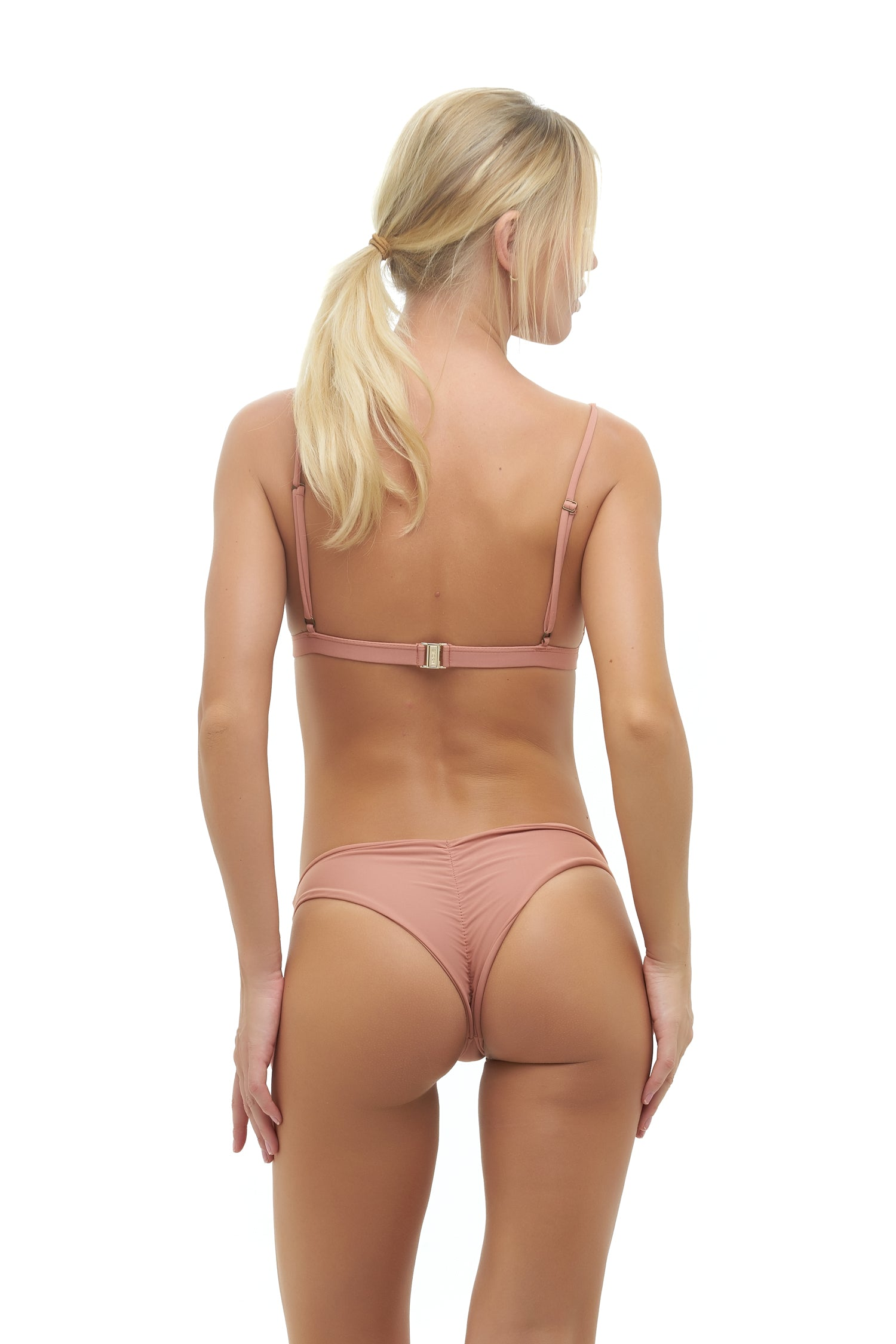 Storm Swimwear - Mallorca - Triangle Bikini Top with Paded In Sun Kissed