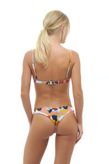 Storm Swimwear - Aruba - Centre Back Ruche Bikini Bottom in The Explorateur Print