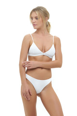 Storm Swimwear - Mallorca - Triangle Bikini Top with Paded In Storm Le Nuage Blanc