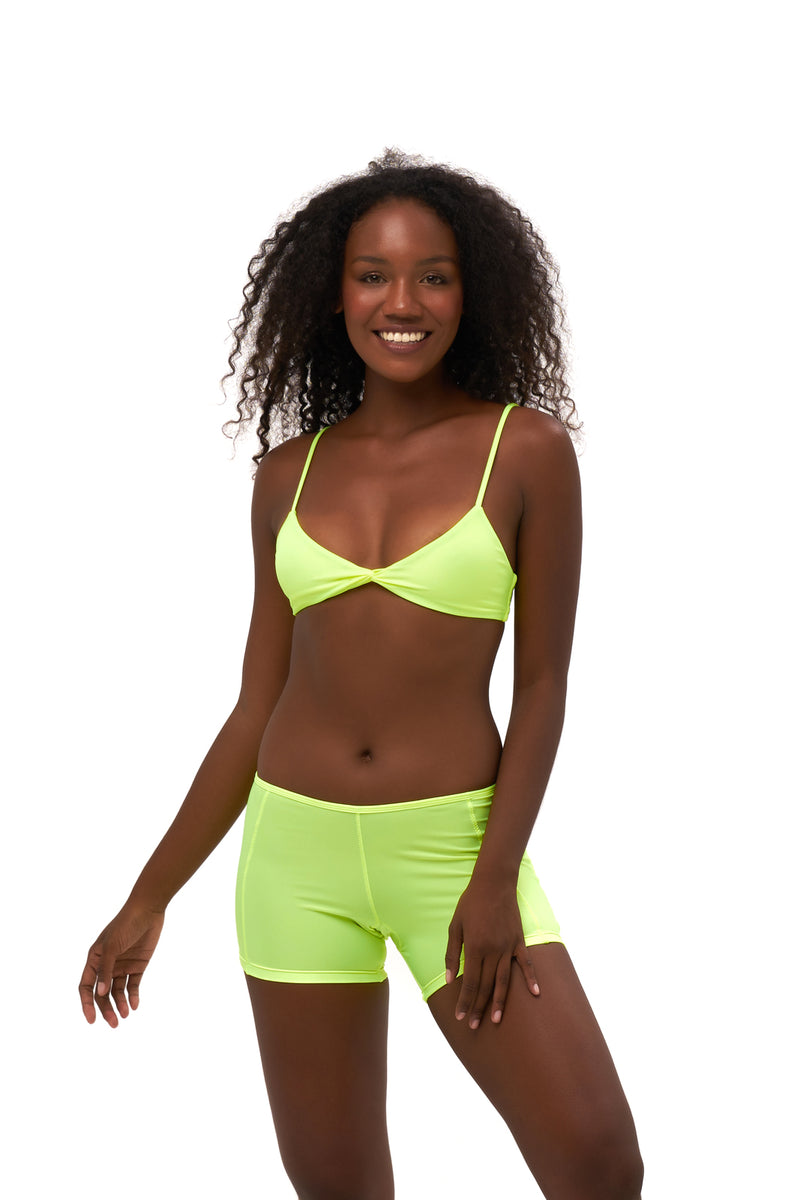 Storm Swimwear - Echo beach - Pant in Neon Yellow