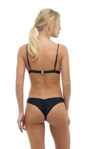 Storm Swimwear - Mallorca - Triangle Bikini Top with Paded In Black