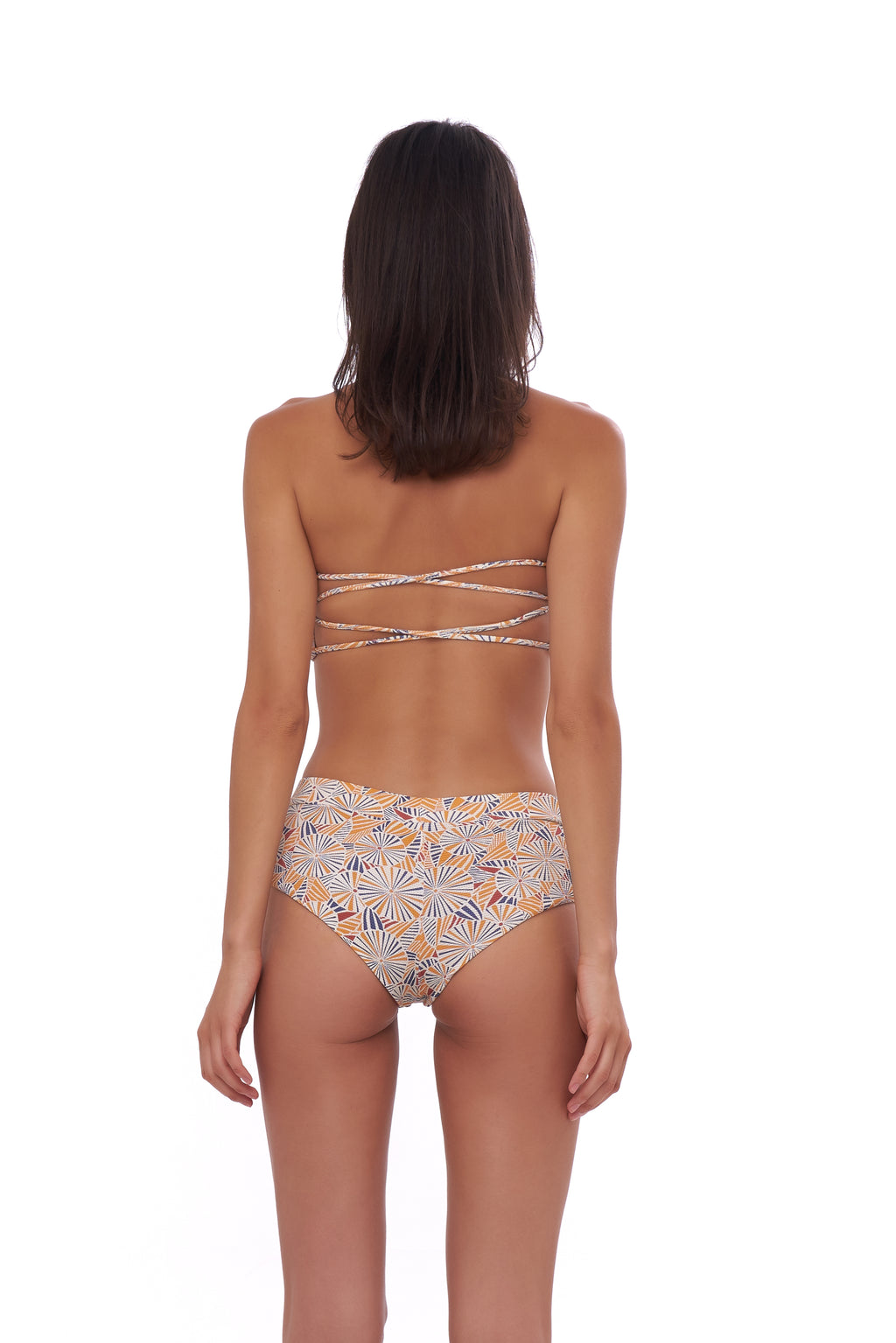 Storm Swimwear - Stromboli - Bikini Bottom in Wild Flowers Print