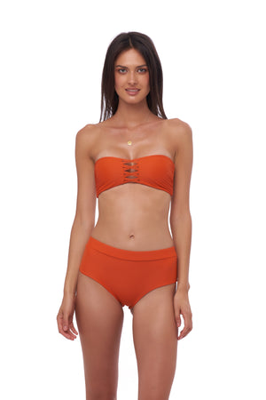 Storm Swimwear - Stromboli - Bikini Bottom in Sunburnt Orange