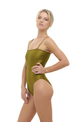 Storm Swimwear - Calla Granara - Removeable Strapless One Piece in Champagne