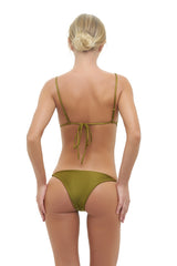 Storm Swimwear - Formentera - Tie Side Bikini Bottom in Champagne