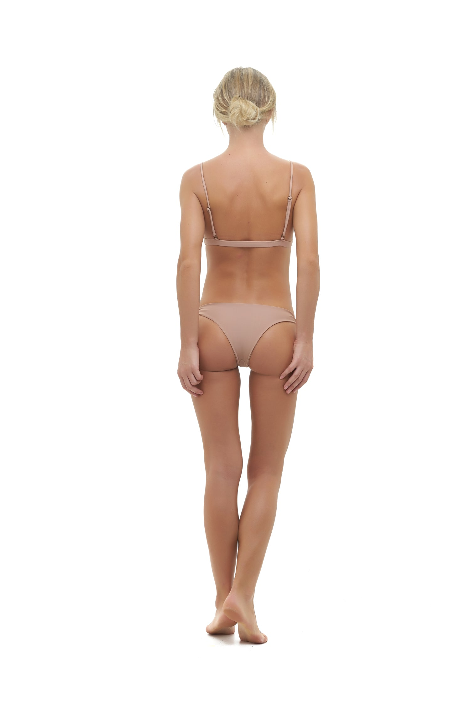 Storm Swimwear - Barbados - Tie knot Side Bikini Bottoms in Nude