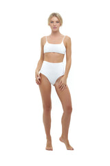 Storm Swimwear - Montauk - Scoop bikini Top in Storm Le Nuage Blanc