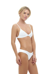 Storm Swimwear - Dangerous - Triangle Bikini Top In Storm Le Nuage Blanc