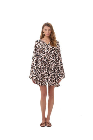 La Confection - Willow - Long Sleeve in Leopard Print