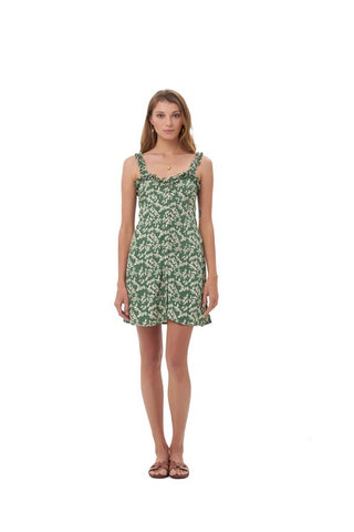 La Confection - Alba - Dress in Ivy Dill and Birch