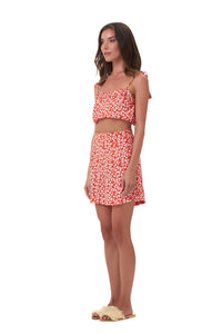 La Confection -  Ravemont - Short in Vintage Flower Red