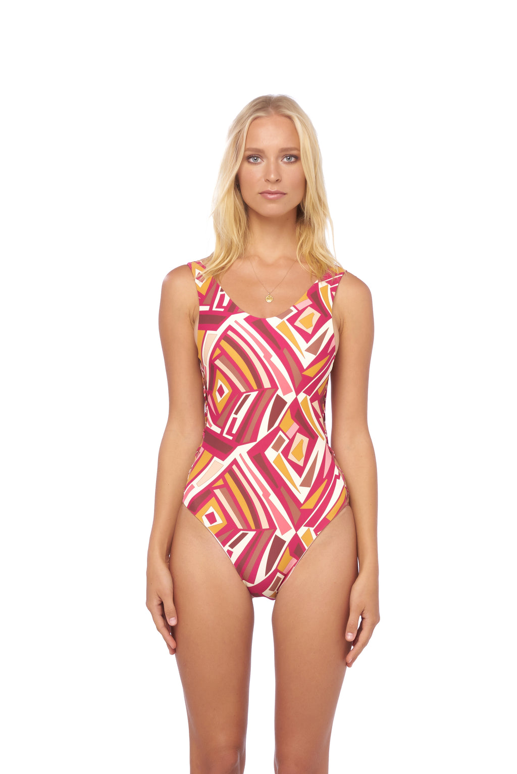 Storm Swimwear - Playa Del Amor - One Piece Swimsuit in Kaleidescope print