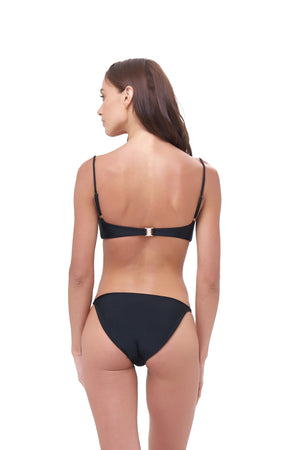 Storm Swimwear - Corfu - Bandeu Bikini Top in Black
