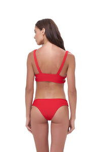 Storm Swimwear - St Barts - Bottom in Scarlet