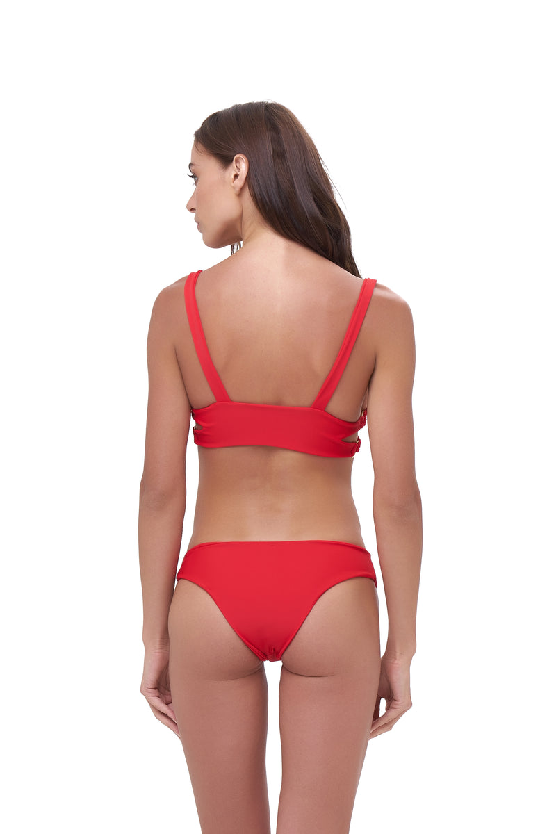 Storm Swimwear - Sicily - Bikini Top in Scarlet