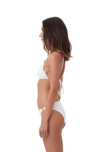 Storm Swimwear - Panama - Tie Back Triangle Bikini Top in Storm Le Nuage Blanc