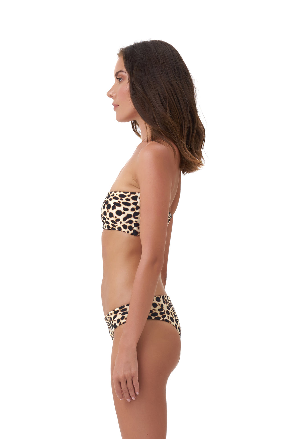 Storm Swimwear - St Barts - Bottom in Cheetah Print