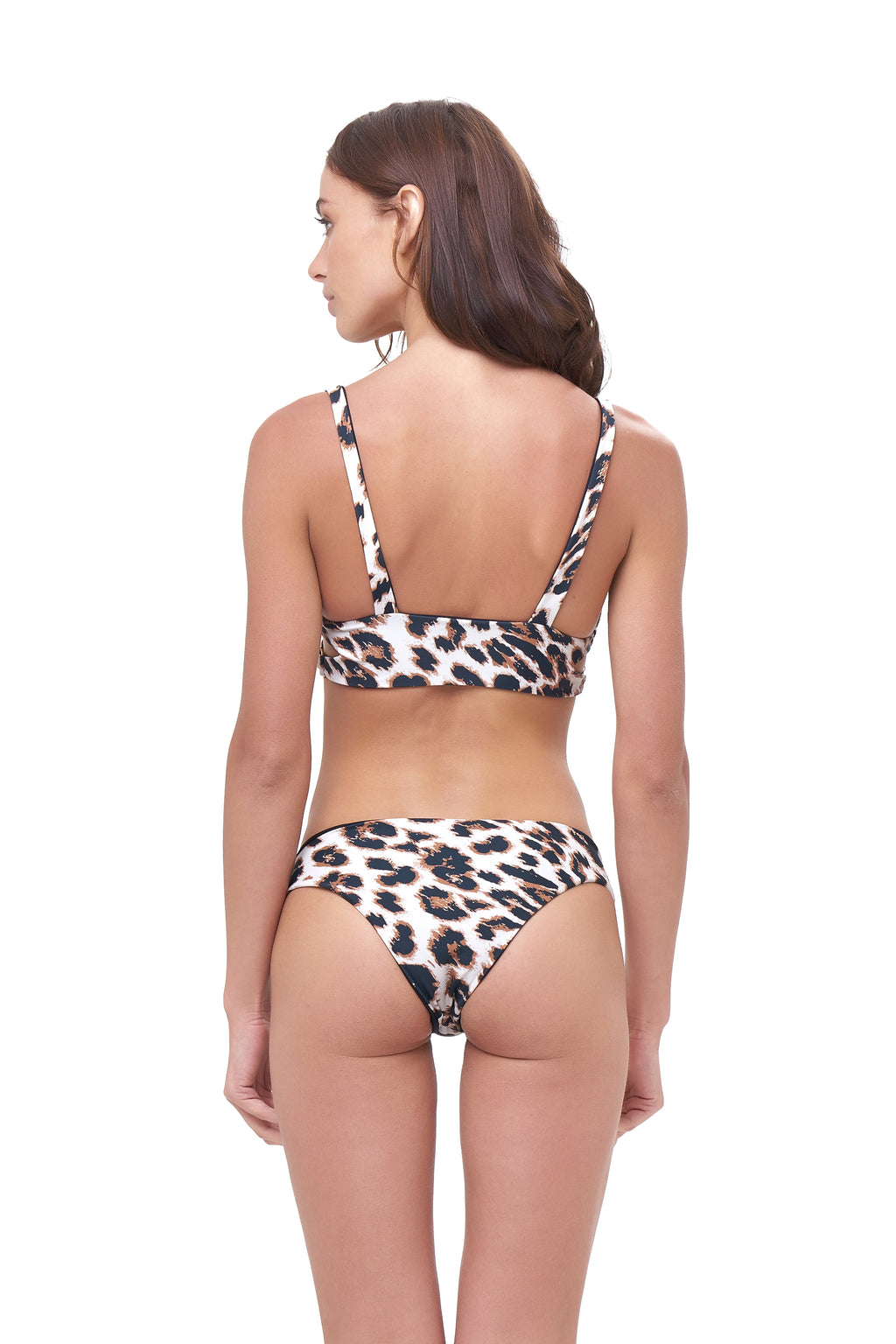 Storm Swimwear - St Barts - Bottom in Leopard Print