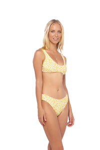 Storm Swimwear - Lagos - More Coverage Brief in Sunflower