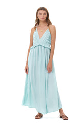 La Confection - Ariana - Maxi Dress in Aquamarine