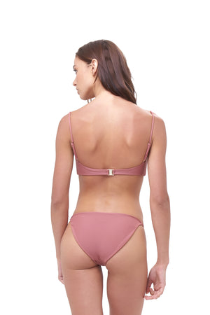 Storm Swimwear - Corfu - Bandeu Bikini Top in Canyon Rose
