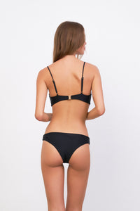 Storm Swimwear - Bora Bora - Twist front padded top in Black