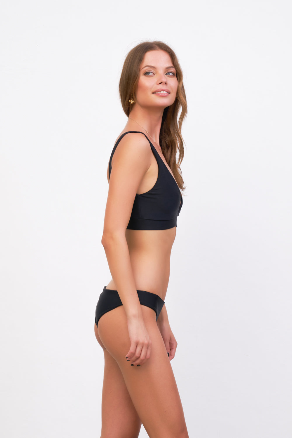 Storm Swimwear - Crete - Coverage top in Black