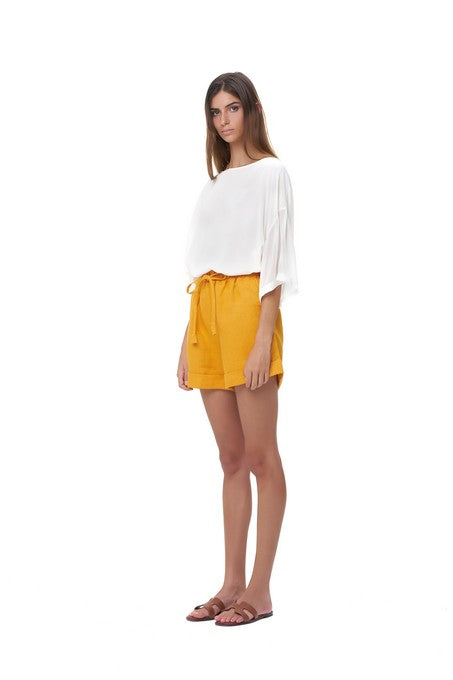 La Confection - Joie - Short in Citrus Linen