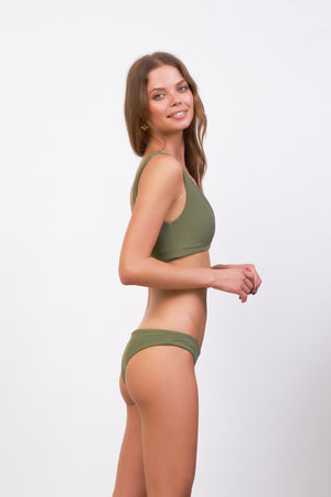 Storm Swimwear - St Barts - Bottom in Jungle Corduroy