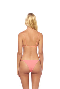 Storm Swimwear - Capri - Tube Single Side Strap Bikini Bottom in Corduroy Sweetheart