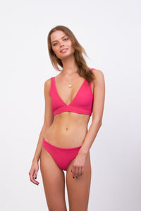 Storm Swimwear - St Barts - Bottom in Flamingo Corduroy