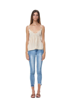 La Confection - Ksenia - Baby Doll Camisole Top in Bircher