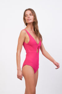 Storm Swimwear - One Fire - One Piece in Flamingo Corduroy