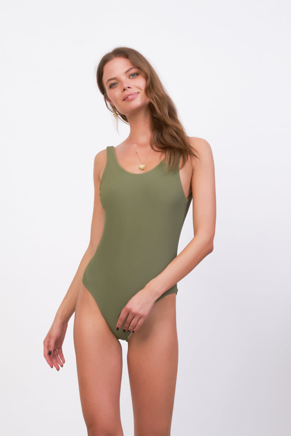 Storm Swimwear - Cayman - One Piece in Jungle Corduroy