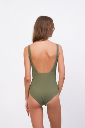 Storm Swimwear - One Fire - One Piece in Jungle Corduroy