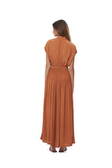 La Confection - Aia - Maxi Dress in Sunburnt