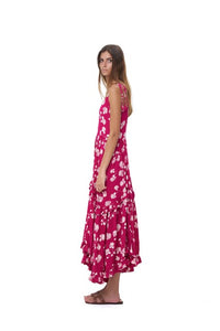 La Confection - Valere - Maxi Dress in Lantana Celosia