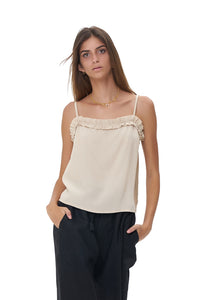 La Confection - Romy Camisole - Top in Bircher
