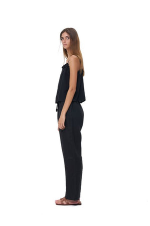 La Confection - Iva - Pant in Black Linen