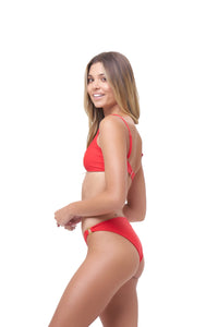Storm Swimwear - Lanzarote - bikini Bottom in Scarlet