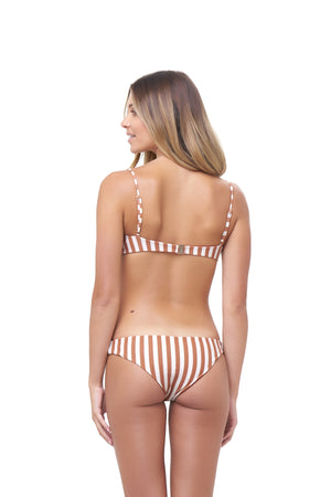 Storm Swimwear - St Barts - Bottom in Sunburnt Stripe Print