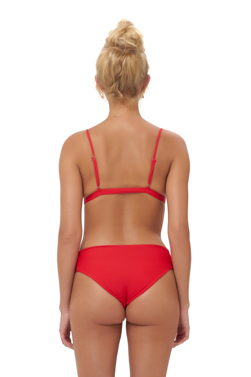 Storm Swimwear - Lagos - Bikini Top in Scarlet