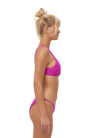 Storm Swimwear - Alicudi - Bikini Top in Fuchsia