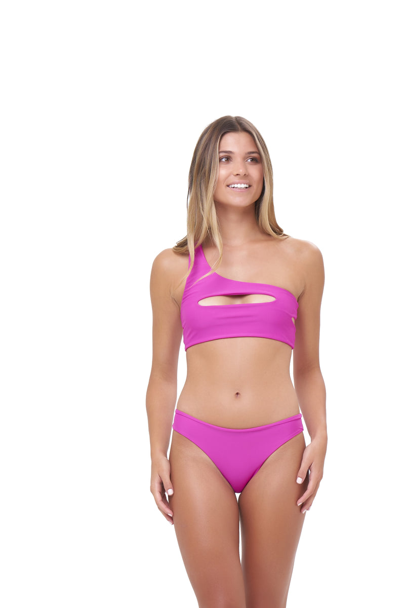 Storm Swimwear - St Barts - Bottom in Fuchsia