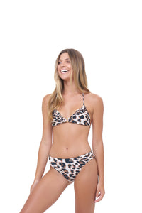 Storm Swimwear - Lagos - More Coverage Brief in Leopard Print