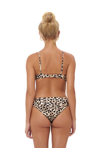 Storm Swimwear - Lanzarote - bikini top in Cheetah Print