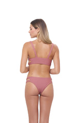 Storm Swimwear - Cottesloe - Split Brief in Canyon Rose