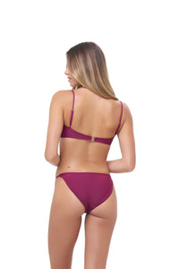 Storm Swimwear - Corfu - Bandeu Bikini Top in Wine