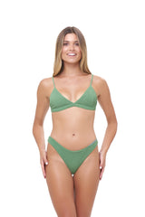 Storm Swimwear - Mallorca - Triangle Bikini Top with removable padding in Storm Le Nuage Mer